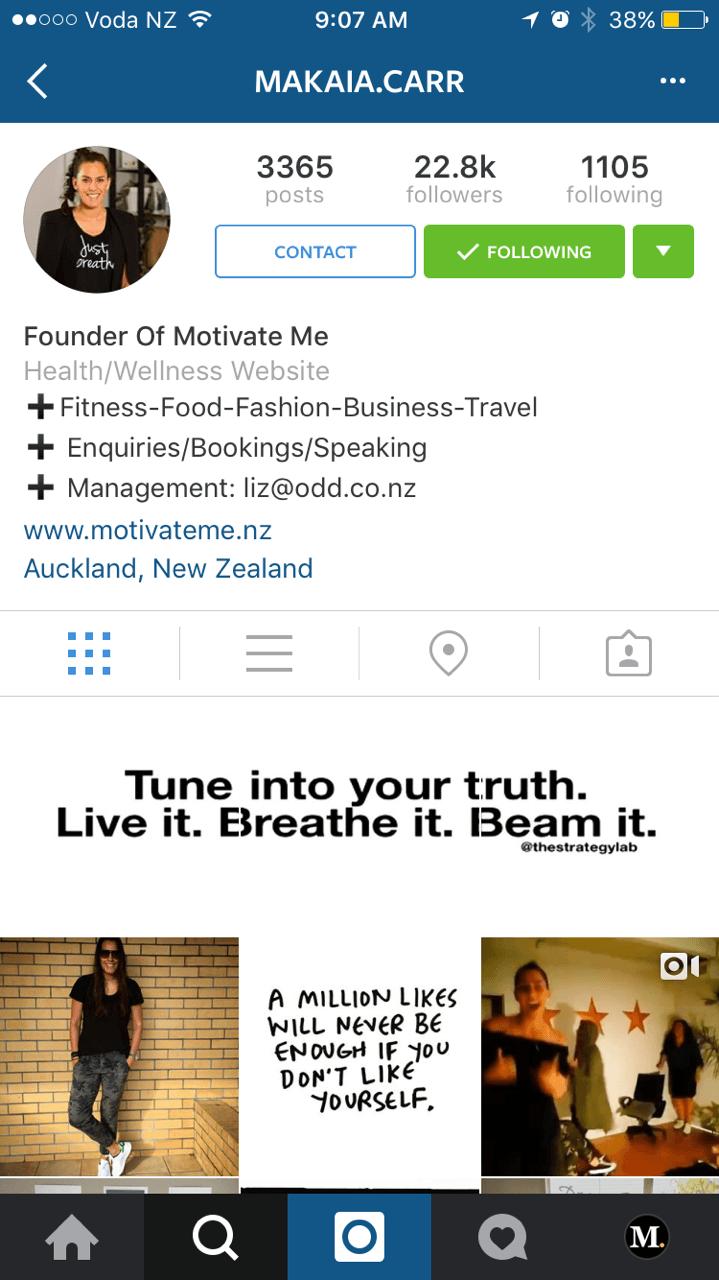 Instagram marka profilleri 1
