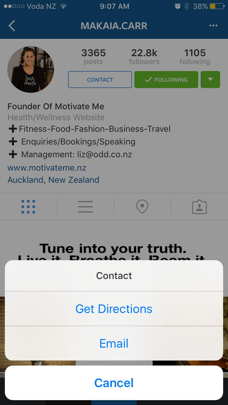 Instagram marka profilleri