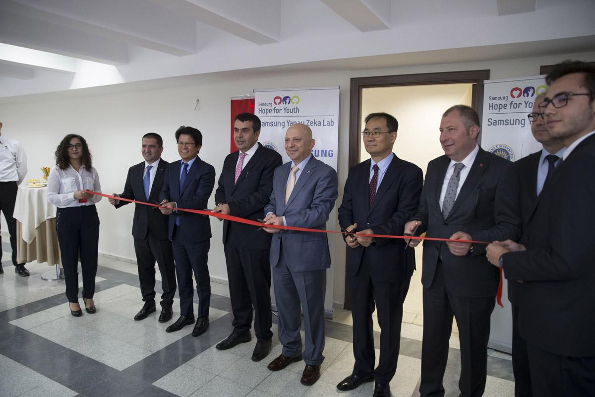 Samsung Yapay Zeka Laboratuvarı Ankara Üniversitesi Teknokent