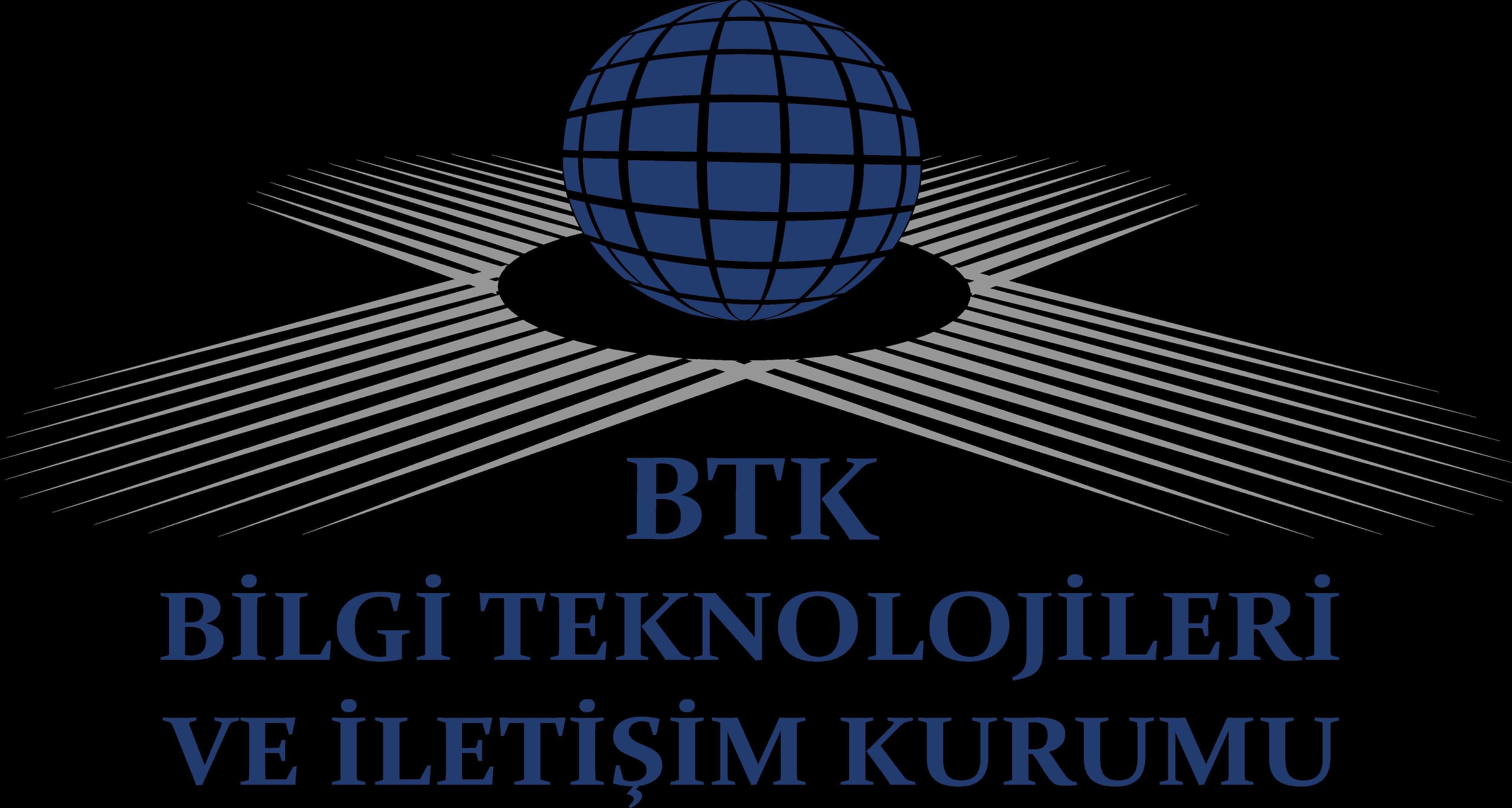 BTK Logo Bilgi Teknolojileri ve İletişim Kurumu