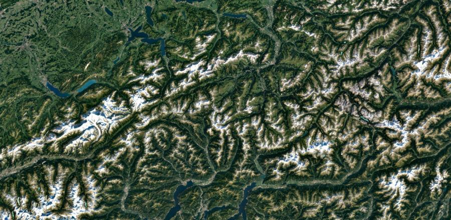İsviçre Alpleri, İsviçre