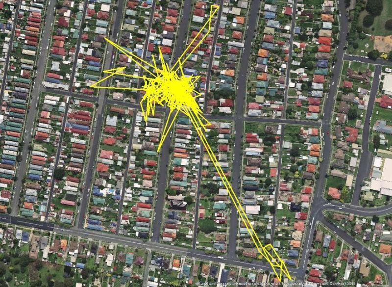Kedi guzergahlari GPS 05