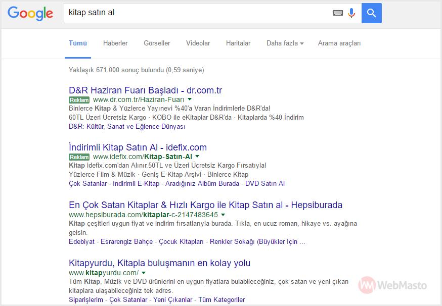 Google Yeşil Reklam Etiketleri