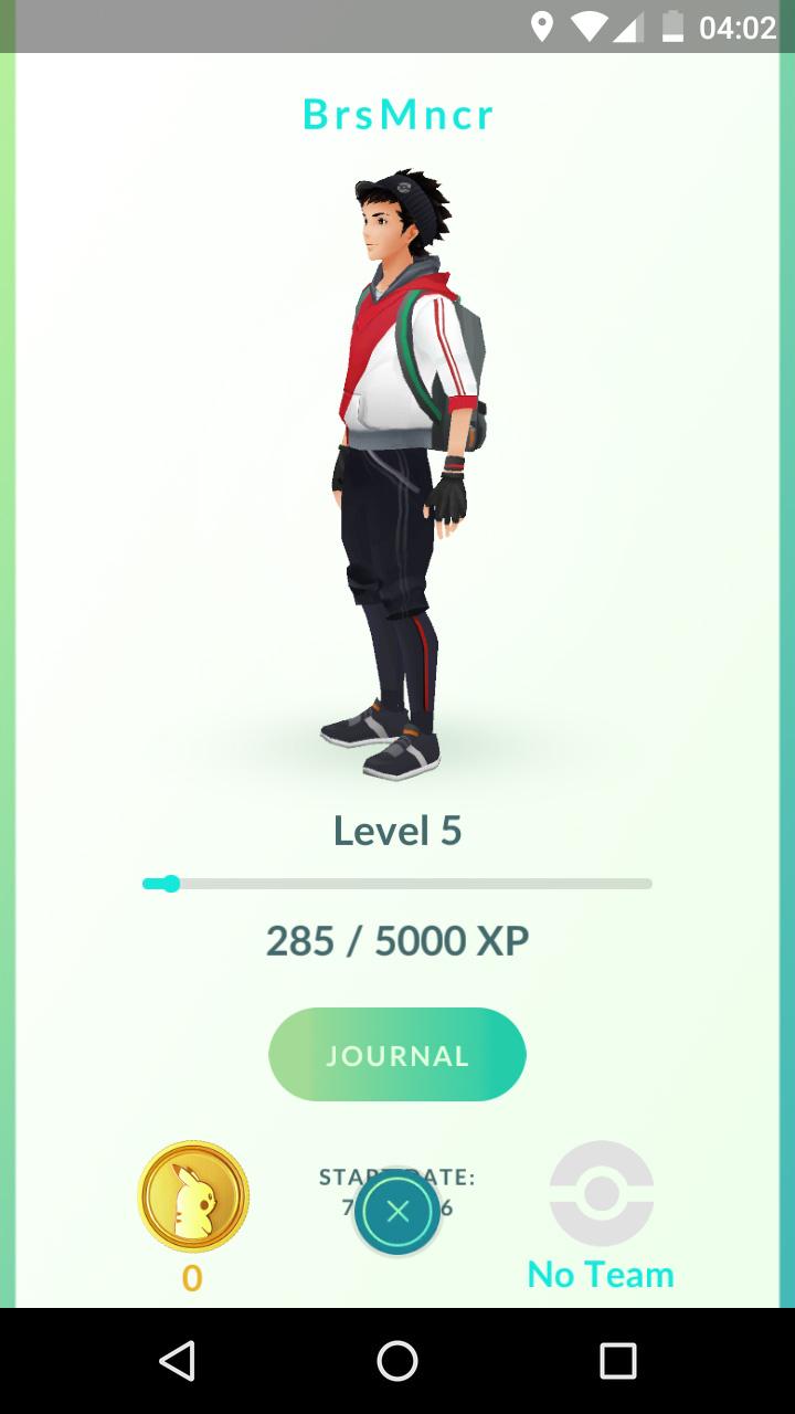 Pokemon GO karakter