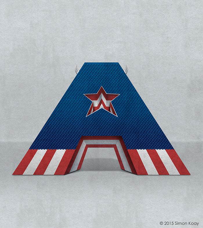 A - Captain America