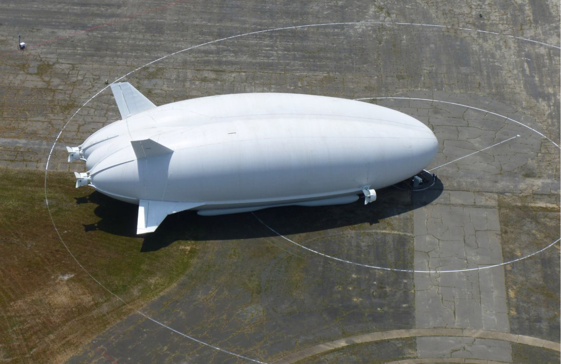 Airlander 10 test uçuşu