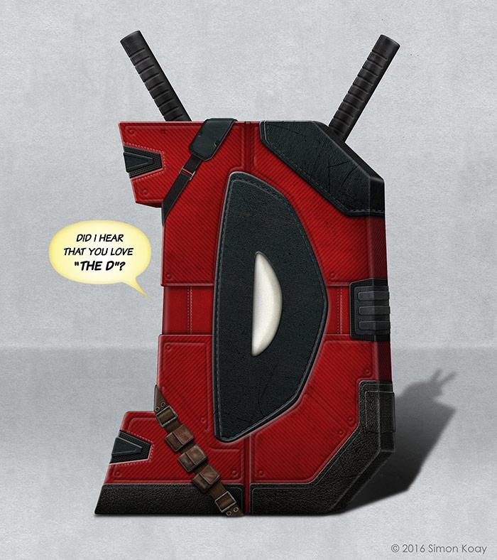 D - Deadpool