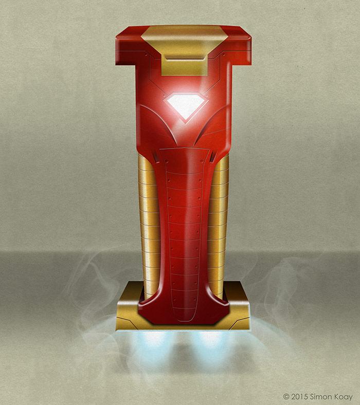 I - Iron Man