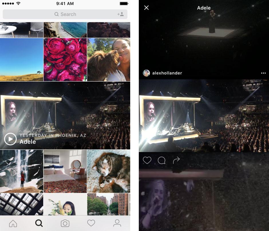 Instagram Etkinlik Kanalları