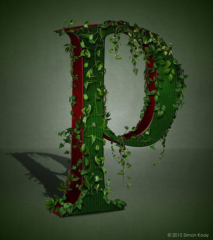 P - Poison Ivy