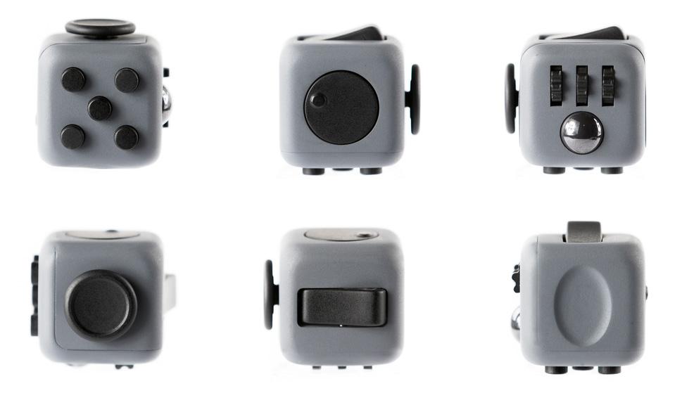 Fidget Cube Butonları