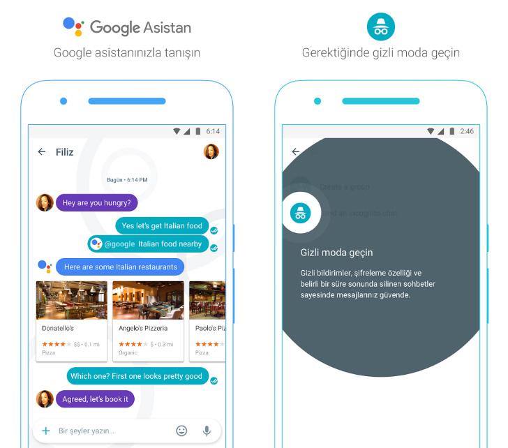 Google Allo Google Asistan Gizli Mod