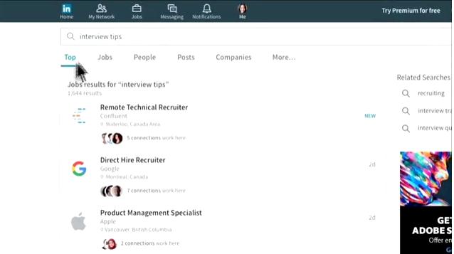 LinkedIn Arama Özelliği 2016