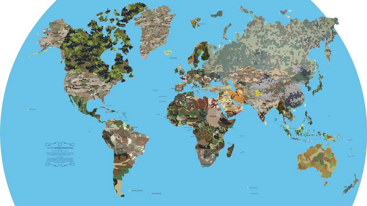 Ülkelerin kamuflaj desenleri