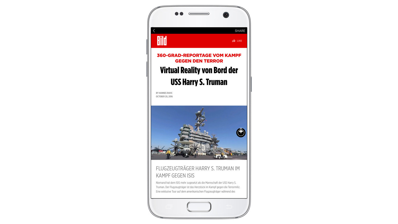 Facebook Instant Articles 360 derece fotoğraf