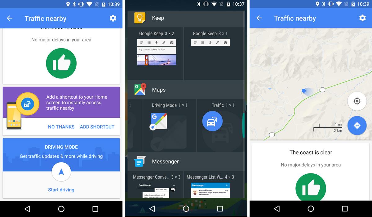Google Maps 9.39 Traffic Nearby