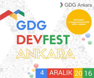 GDG DevFest Ankara 2016