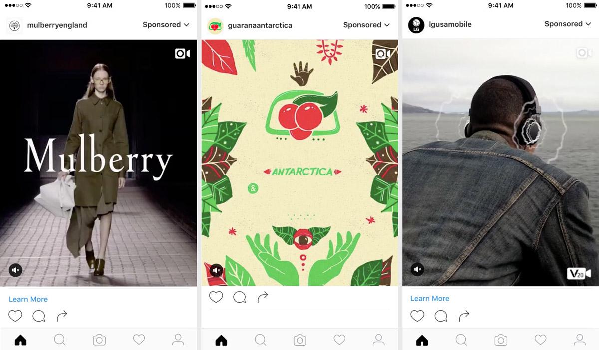 Instagram Dikey Reklamlar