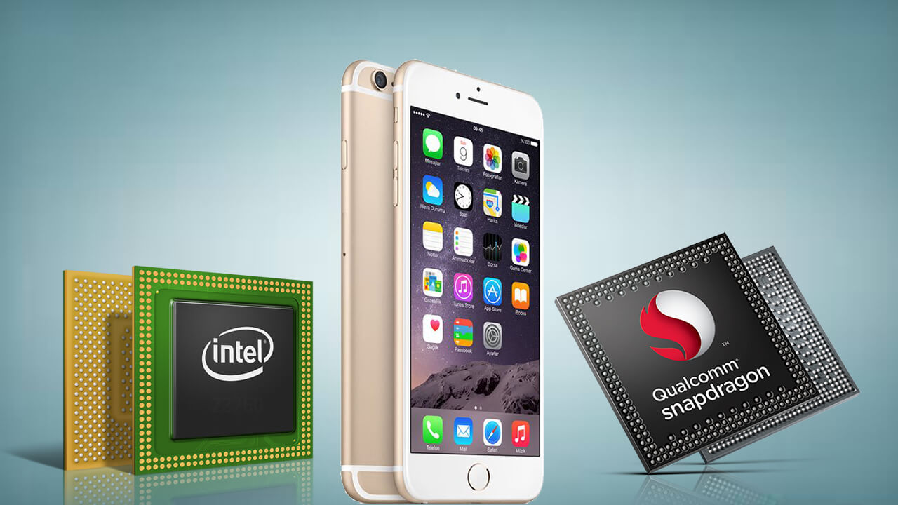 Apple Qualcomm Intel